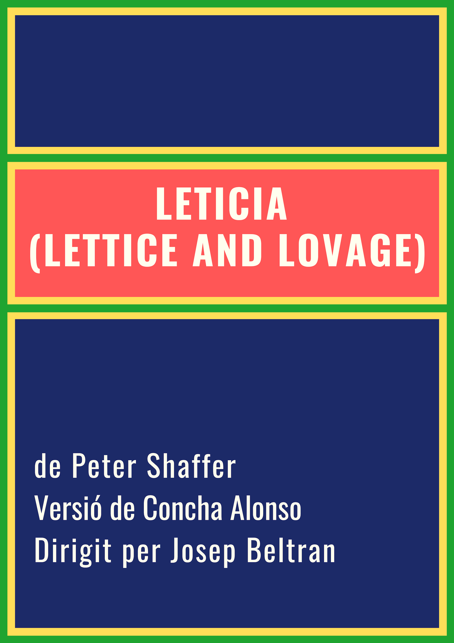 Leticia (Lettice and Lovage)