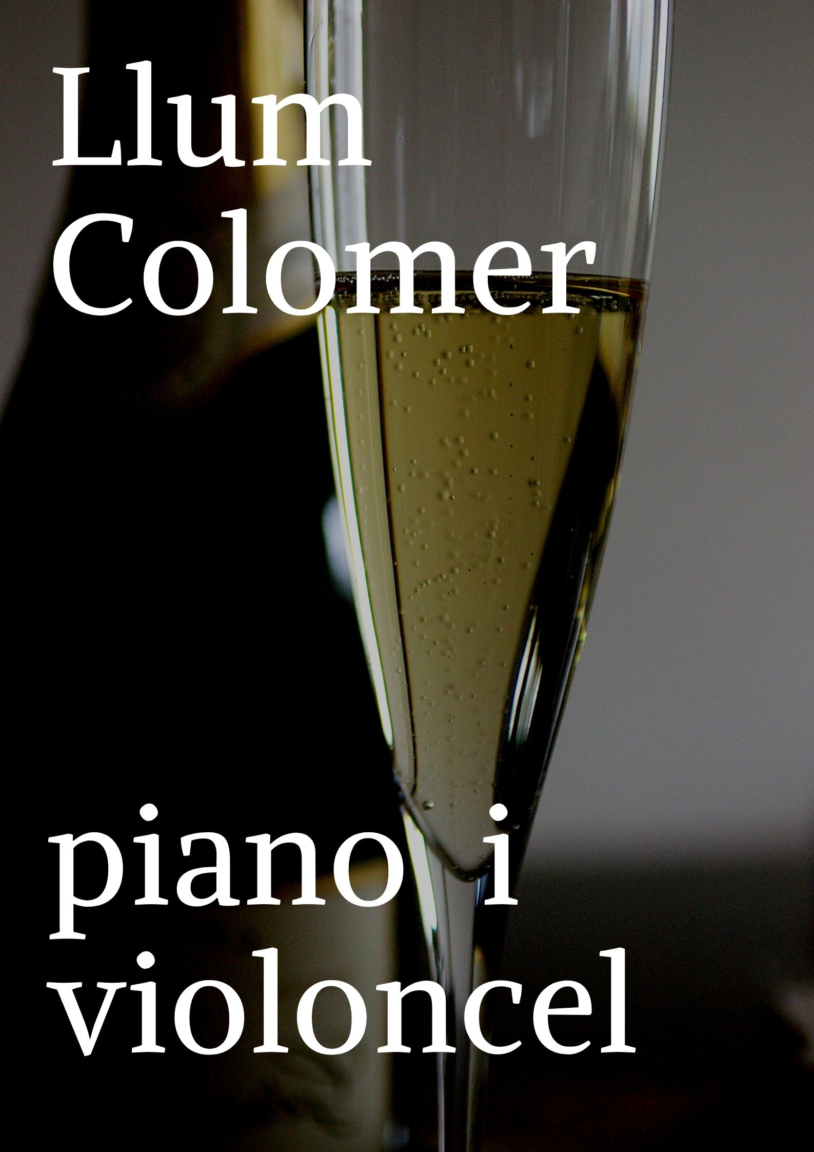 Llum Colomer, piano i violoncel